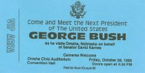 Image of 13120-103 - Pass, George H.W. Bush, at the Omaha Civic Auditorium, October 28, 1988