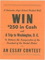 Image of Brochure-Essay Contest