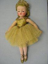 Image of 13137-31 - Doll; Plastic; Girl; Ballerina; Madame Alexander