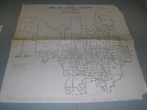 Image of 13143-167 - Map, Voting Districts, Lincoln, 1975