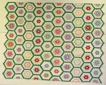 Image of 13144-6 - Quilt, Grandmother's Flower Garden
