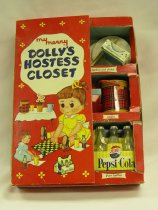 Image of 13154-11-(1-40) - Doll; Plastic; My Merry Dolly's Hostess Closet