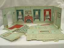 Image of 13154-15-(1-8) - Dollhouse, Tootsie Toy