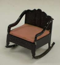 Image of 13154-15-(23) - Chair, Rocking, For Tootsie Toy Dollhouse