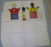 Image of 13156-1 - Puppet, Crete Mills Flour Sack