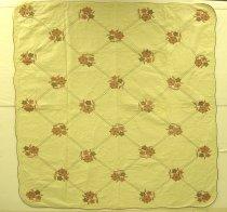 Image of 13160-8 - Quilt, Applique, Pastel Floral Bouquet
