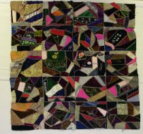 Image of 13160-9 - Quilt, Top, Crazy