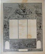 Image of 13180-1 - Roster, Third Nebraska Infantry, Co. F, Spanish American War