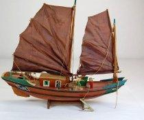 Image of 13184-5 - Boat, Model, Vietnamese