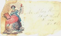 """Image of 13188-1 - Envelope, """"The Union Forever and Ever"""""""