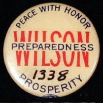 Image of 1338 - Button, Wilson; Peace with Honor