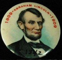 Image of 1342 - Button, Abraham Lincoln Centennial