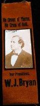 Image of 2241-28 - Ribbon, Campaign; William Jennings Bryan