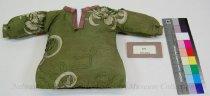 Image of 271 - Shirt, Baby; Silk Print; Ribbon Applique