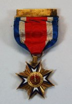 Image of 2732-7 - Badge, Medal, Military Order of the Loyal Legion; US, Gen. L.W. Colby