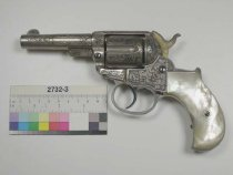 "Image of 2732-3 - Revolver, Cartridge, Colt Patent Fire Arms Manufacturing Company, Model 1877 ""Lightning"""