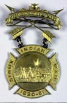 Image of 2732-6 - Medal, Nebr. National Guard, Sioux Indian War; 1890-91, Gen. L.W. Colby