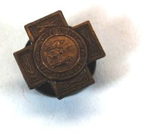 Image of 2732-14 - Lapel Button, United Spanish War Veterans; Gen. L.W. Colby