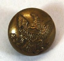 Image of 2732-21 - Button, Uniform, US Army; Eagle W/Shield, Gen. L.W. Colby
