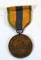 Image of 2852-8 - Medal; Mexican Service, Navy, Awarded to Clyde Burge