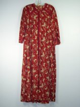Image of 3029 - Gown, Dressing, Cotton printed, Ruth Sheldon