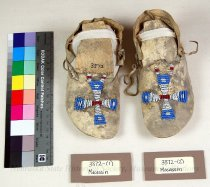 Image of 3372-(1-2) - Moccasins, Sioux, Cross