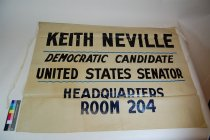 Image of 3410-19 - Banner, Political; Keith Neville