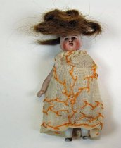 Image of 3560-1129 - Doll; Bisque; Girl