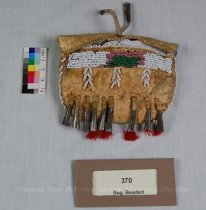 Image of 370 - Bag, Beaded, Toy