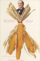 Image of 3801-121-(4) - Postcard, Political; William Jennings Bryan