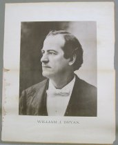 Image of 3801-140 - Poster, Political; Photographic portrait of William Jennings Bryan