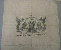 Image of 3801-4 - Handkerchief, Campaign; William Jennings Bryan/Sewall; 16/1