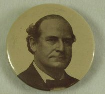 Image of 3887-27 - Button, Political; William Jennings Bryan