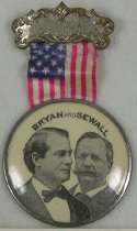 Image of 3901 - Badge; William Jennings Bryan/Sewall