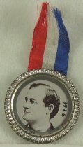 Image of 3926 - Button, Political; William Jennings Bryan