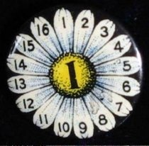Image of 3934 - Button, Political; William Jennings Bryan; 16 to 1