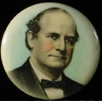 Image of 4008-7 - Button, Political; William Jennings Bryan