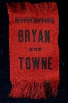 Image of 4119-8 - Ribbon, Political; William Jennings Bryan/Towne