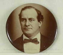 Image of 4123-2-(1) - Button, Political; William Jennings Bryan