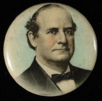 Image of 4123-2-(4) - Button, Political; William Jennings Bryan