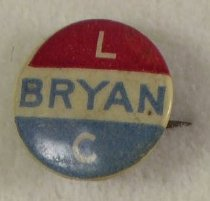 Image of 4123-9 - Button, Political; William Jennings Bryan