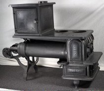 Image of 4350-20 - Stove, Hayburner; Collins and Burgie 1