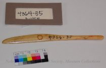 Image of 4364-35 - Knife, Small; All Bone