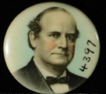Image of 4397 - Button, Political; William Jennings Bryan
