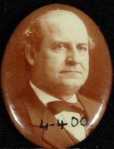 Image of 4400 - Button, Poltical; William JenningsBryan