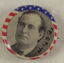Image of 4402 - Button, Political; William Jennings Bryan