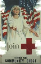 """Image of 4541-474 - Poster; WWII: Red Cross, """"Join"""""""