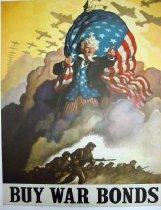 "Image of 4541-513 - Poster; World War II; ""Buy War Bonds"""