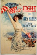 Image of 4541-25B-(1) - Poster, Fight or Buy Bonds