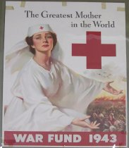 Image of 4541-444 - Poster; World War II; Red Cross